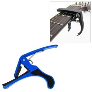 Plastic Guitar Capo for 6 String Acoustic Classic Electric Guitarra Tuning Clamp Musical Instrument Accessories(Blue)