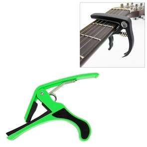 Plastic Guitar Capo for 6 String Acoustic Classic Electric Guitarra Tuning Clamp Musical Instrument Accessories(Green)