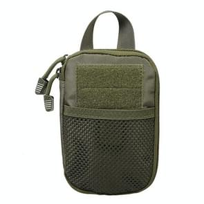 1000D Nylon Tactical Bag Outdoor Waist Fanny Pack Mobile Phone Key Mini Tools Waterproof Sport Pouch(Army Green)