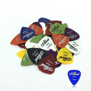 Alice 50 PCS ABS Electric Guitar Picks, Random Color Delivery, Surface:Frosted, Size:0.58mm