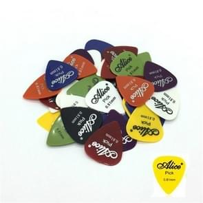 Alice 50 PCS ABS Electric Guitar Picks, Random Color Delivery, Surface:Frosted, Size:0.81mm