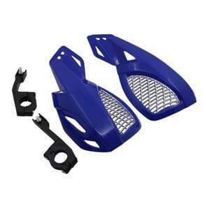 24CM Motorcycle Handguard Hand Guard Protector for Kawasaki Suzuki Honda Yamaha Moto Dirt Bike ATVS With Mount Kit(Blue)