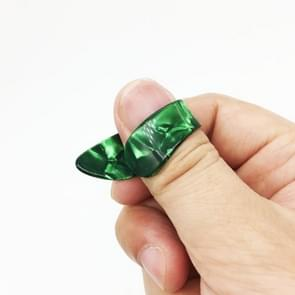 10 PCS Universal Guitar Fingernail Case Guitar Finger Plucking, Random Color Delivery(Right thumb)