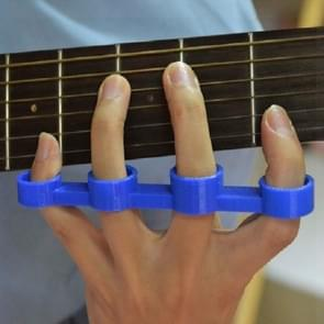 Guitar Finger Expansion Finger Force Device Piano Span Practice Finger Sleeve, Specification:Medium(Blue)