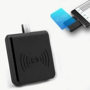 Micro USB Interface Non-Contact High Frequency IC Card RFID Mobile Phone Reader  Random Color Delivery