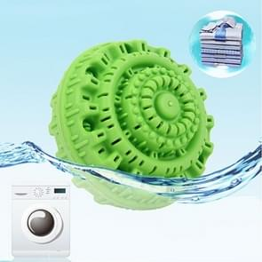 2PCS Green Laundry Reusable Anion Molecules Cleaning Magic Washing Ball