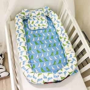Simple Cartoon Cotton Infant Portable Mattress(Dinosaur)