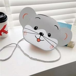 4 PCS Kinderen Mini Cute Cartoon Single Schoudertassen (Little Gray Mouse)