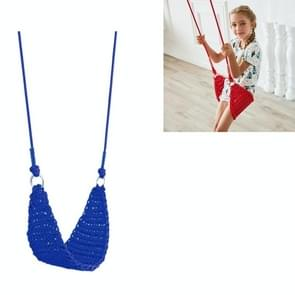 Rope Net Kids Toys Kinderen Outdoor Swing Baby Home Garden Garden Swing (Blauw)