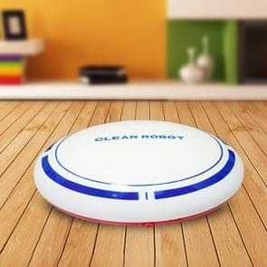 2 In 1 Rechargeable Floor Sweeping Robot Dust Catcher Intelligent Auto-Induction Floor Sweeping Robot Vacuum Cleaner(White)