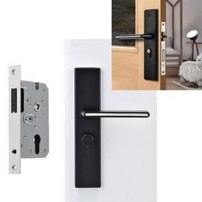 Indoor Black Silent Lichtgevende deurslot Aluminium Aluminium Stuurgreep Slot  Specificatie: Magnetische Stille Lock Body