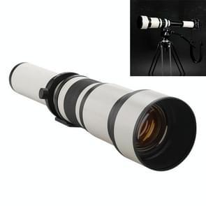 Lightdow 650-1300mm Tele Zoom Camera Lens T2 Astronomische Spiegel Telelens