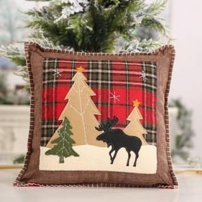 Kerstversiering levert plaid doek kussensloop elk kussensloop  zonder Pillow Core