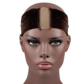 5 PCS Lace Wig hoofdband (Koffie)