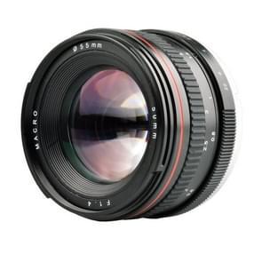 Lightdow EF 50mm F1.4 USM Large Aperture Portret Vaste Focus Lens voor Canon