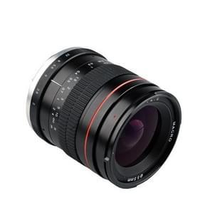 Lightdow 35mm F2.0 Groothoeklens Full-Frame Portret Micro SLR Manual Fixed Focus Lens
