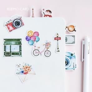 Travel Adhesive Decorative Stickers DIY Decoration Diary Stationery Stickers