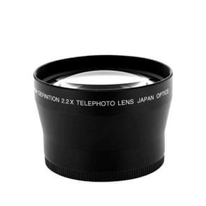 Lightdow 72mm 2.2X Teleconverter Camera Telephoto Lens