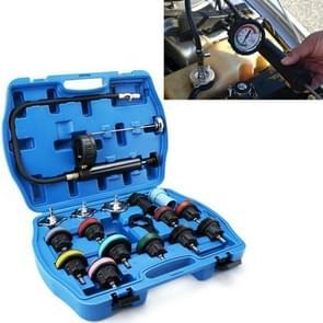 18 in 1 Water Tank Leak Detector Car Cooling System Tester Auto Repair Pressure Gauge Pomp Gas Gauge