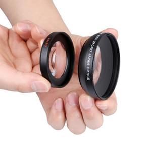52mm 2 In 1 0 45x Groothoek + Macro Cameralens