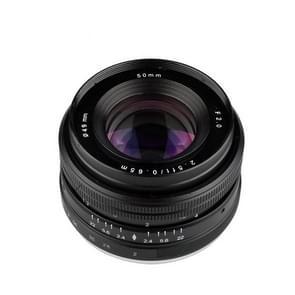 LIGHTDOW EF 50mm F2.0 USM Portrait Standard Focus Lens voor Canon
