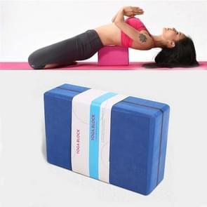 Twee-kleuren High-Density EVA Gewogen Yoga Bricks Yoga Aids Dance Praktijk Bakstenen (Navy Blue)