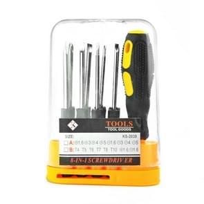 5 Sets Kleine schroevendraaier Phillips Een mes schroevendraaier tool set  specificatie:10 in 1