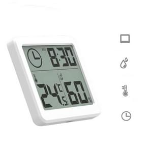 Multifunction Automatic Electronic Temperature and Humidity Monitor Clock with 3.2 inch Large LCD Screen