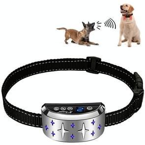 Silver Star Patroon Dog Training Device Elektronische Schok Opladen Waterdichte Halsband Bark Stopper