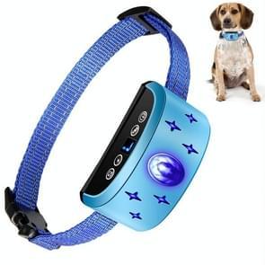 166A Gem Patroon USB oplaadbare afstandsbediening elektronische staking kraag waterdichte hond training schors arrester