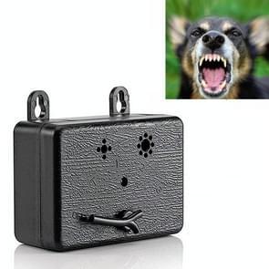 Ultrasone Hond Repeller Pet Automatische Bark Stopper Dog Training Supplies  Specificatie: CSB20 (Oplaadbaar)(Zwart)