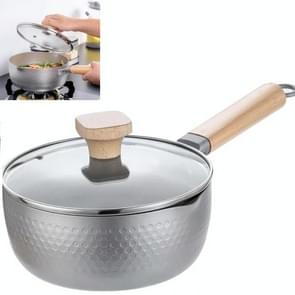 Baby Food Supplement Milk Pot Single Small Hot Pot Stew Steamer (Zilver)