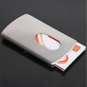 Metal Business Card Holder Business Stainless Steel Card Case