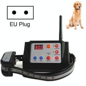 2 In 1 Smart Wireless Waterproof Fence Remote Dog Trainer met kraag  Style:420G(EU Plug)
