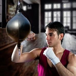 Boksen Speed Ball Fitness Vent Ball Adult Opknoping Gratis Punching Bag (Drawstring Black)
