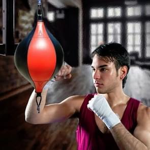 Boksen Speed Ball Fitness Vent Ball Adult Opknoping Gratis Punching Bag (Drawstring Red & Black)