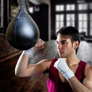 Boksen Speed Ball Fitness Vent Ball Adult Opknoping Gratis Punching Bag (Pear Shape Black)