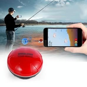 Fish Finder Wireless Mobile Phone Sonar Fish Finder APP Onderwater Fish Finder Fishing Gear (Rood)