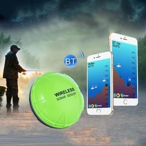 Fish Finder Wireless Mobile Phone Sonar Fish Finder APP Onderwater Fish Finder Fishing Gear (Groen)