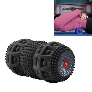 Yoga Fascia Ball Elektrische Vibration Massage Ball Body Muscle Relaxation Fitness Health Yoga Ball (Zwart)