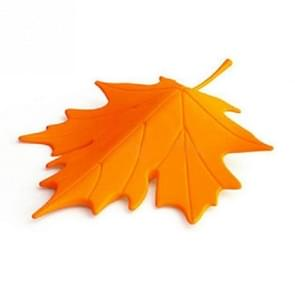 Maple herfst Leaf Style Home decor vinger veiligheid Deurstop stopper (oranje)