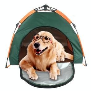 Outdoor Pet Tent automatische inklapbare Cat House Kennel regenproof en zonnebrandcrème draagbare huisdier kennel hond tent