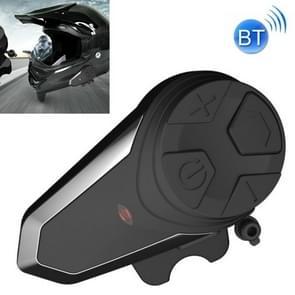 BT-S3 Motorcycle Helmet Bluetooth Headset Motorcycle Intercom Bluetooth Headset  Specificatie:Met USB-oplaadkabel(Zwart)
