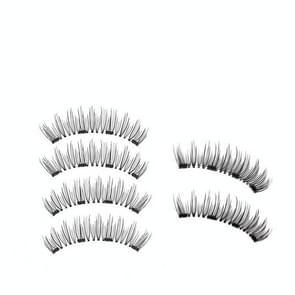 3 Pair 3D Magnetic Eyelashes Magnetic Lashes Natural False Eyelashes(52HB-4)