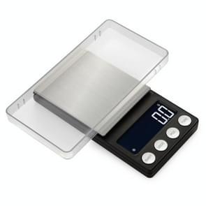 High-Precision Electronic Scale Mini Portable Jewellery Medicine Schaal  Style:1000g/0.1g