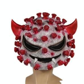 Halloween Props Horror Headgear Latex Mask Teaching Model