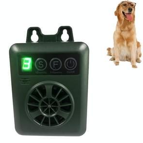 K6 USB Oplaadbare Ultrasone Bark Arrester Repeller Anti-Barking Dog Training
