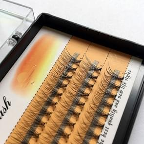 3 Boxes Natural Long Individual Flare Lashes Cluster False Eyelashes 60 Bundles/Boxes(10mm)