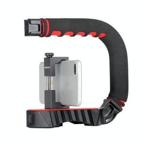 Ulanzi U-Grip Pro handheld camera met C-Type Bracket Mobiele Telefoon SLR Low Shot Video Handvat