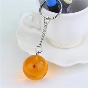 Anime Dragon Ball 7 Stars Balls 2.7cm PVC Figures Toys Keychain(1 star)